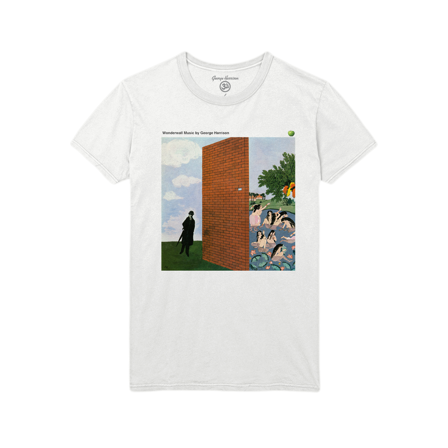 Wonderwall Cover White Tee - George Harrison Shop