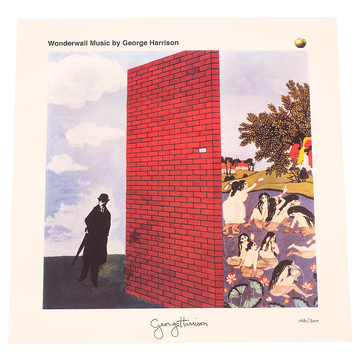 Wonderwall Litho - George Harrison