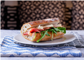 Parma Ham and Taleggio Sandwich