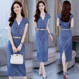 DRESS DENIM BELT