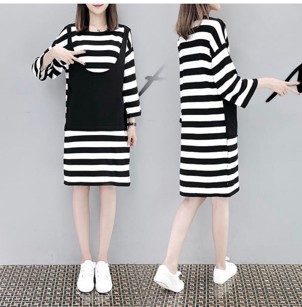 DRESS ROMPI GARIS