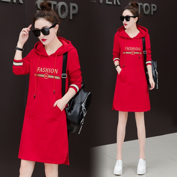 DRESS HOODIE FASHION