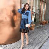 DRESS DENIM COMBI