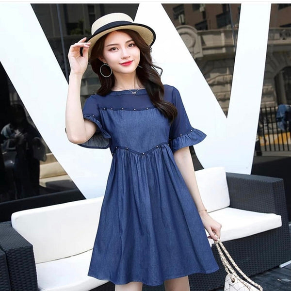 DRESS DENIM BLUE