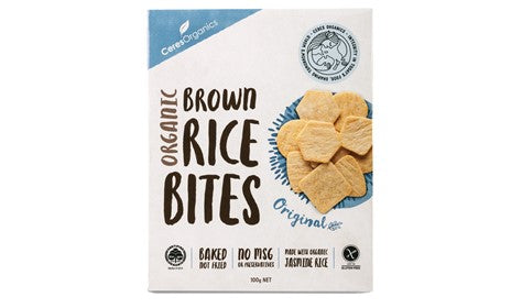 Ceres Organics Rice Bites - Box 100g