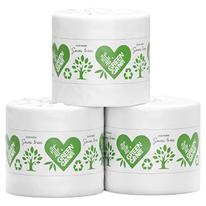 Toilet Paper - 1 roll - Greencane (Bamboo/sugarcane) Individually Wrapped (Limit of 6) (bulky)