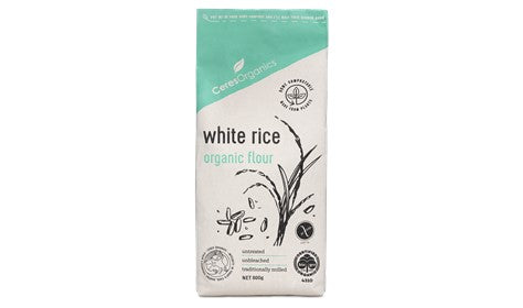 Ceres Organics White Rice Flour 800g