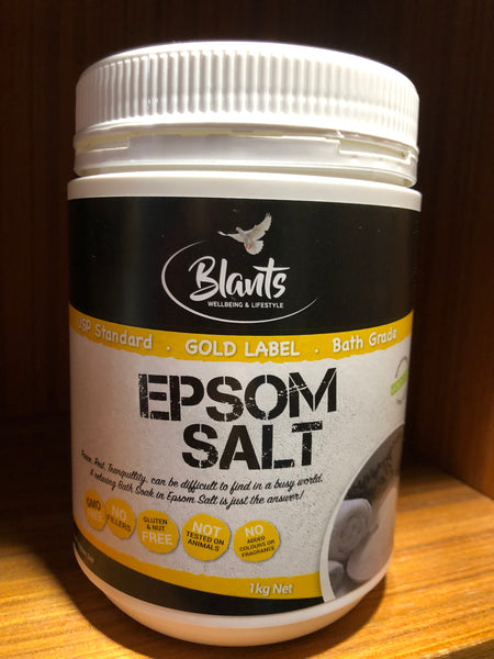 Blants Epsom Salts 1kg tub