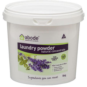 Abode Laundry Powder  5kg - Wild Lavendar & Mint