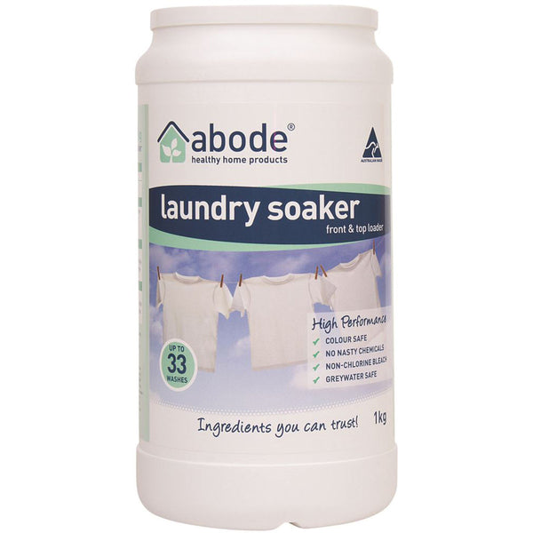 Abode Laundry Soaker 1kg - High Performance