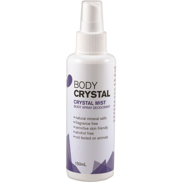 Body Crystal Body Spray Deodorant - Fragrance free