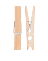 Go Bamboo Clothes Pegs (pack of 20)