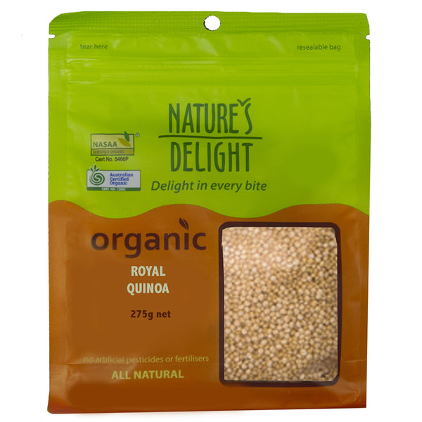 Royal Quinoa (Organic) 275g by Nature's Delight