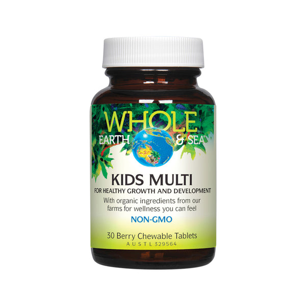 Kids Multi Chewable 30 capsules by Whole Earth & Sea