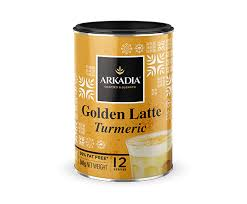 Arkadia Golden Latte tin 240g