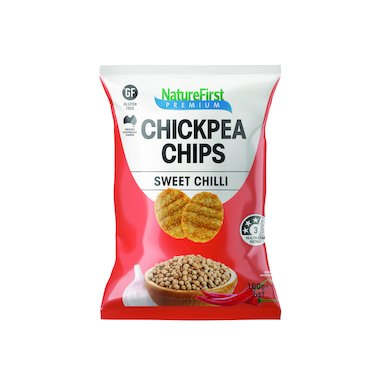 Natures First Chips Chickpea with Sweet Chilli 100g