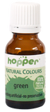 Hoppers Natural Colouring 20g - Green