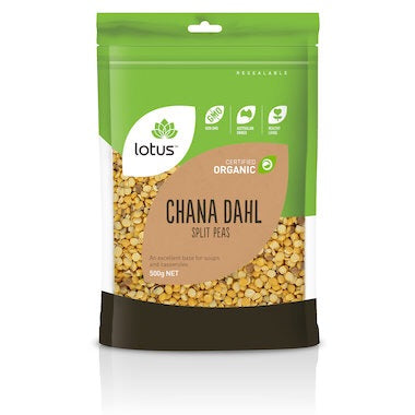 Lotus China Dahl (spilt peas) Organic