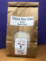 Dead Sea Salt 900g Refill