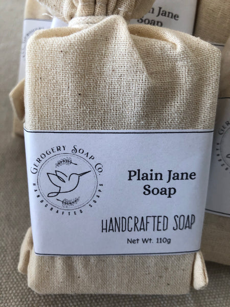 Plain Jane (Fragrance Free) Soap Bar 110g