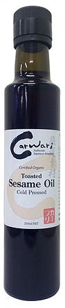 Carwari Organic Sesame Oil Toasted 250ml