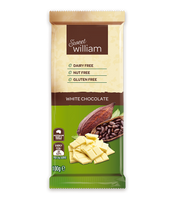Sweet William 100g White Chocolate bar