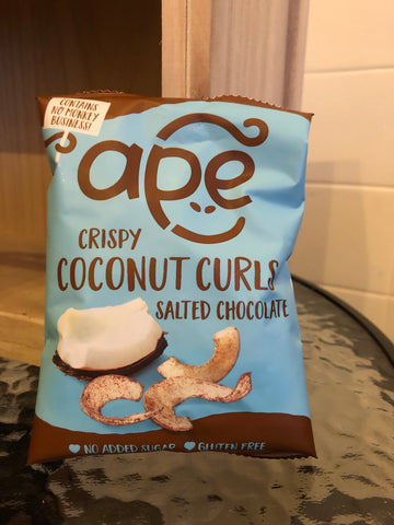 Ape Coconut Curls - Salted Chocolate (20g)