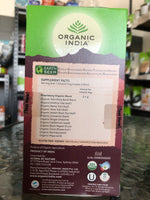 Organic India - Tea Bags 25 - Chai Masala Tulsi Tea