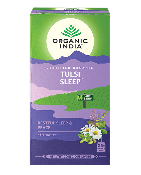 Organic India - Tea Bags 25 - Wellness - Sleep Tulsi Tea