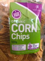 Health Magic Organic Corn Chips Original Round 500g