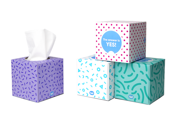 Who Gives A Crap Tissues (1 box) (bulky)