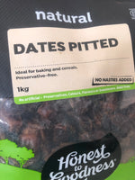 Dates pitted 1kg by Honest to Goodness