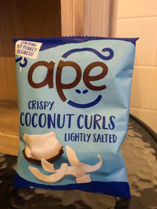 Ape Coconut Curls - Lightly Salted (20g)