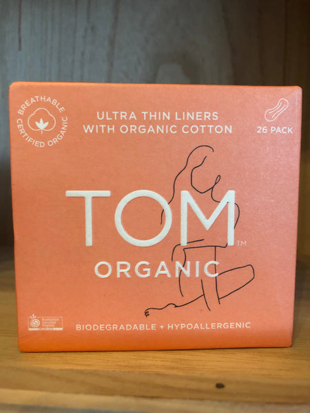 Tom / Liners - 26 individually wrapped organic cotton