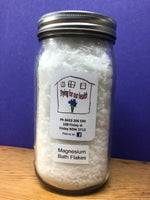 Magnesium Bath Flakes 750g (Mag in a Jar)