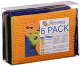 Fibreteq Microfibre  Cloth 6 pack