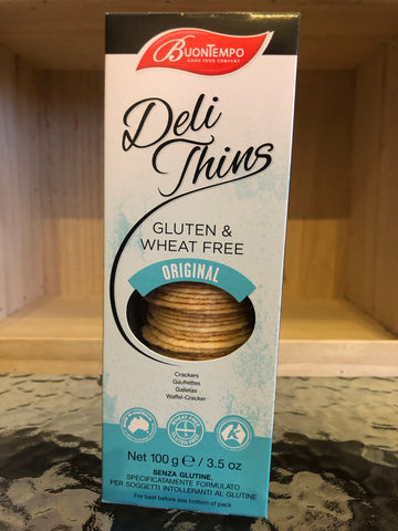 Buontempo Deli Thins - Gluten and Wheat Free