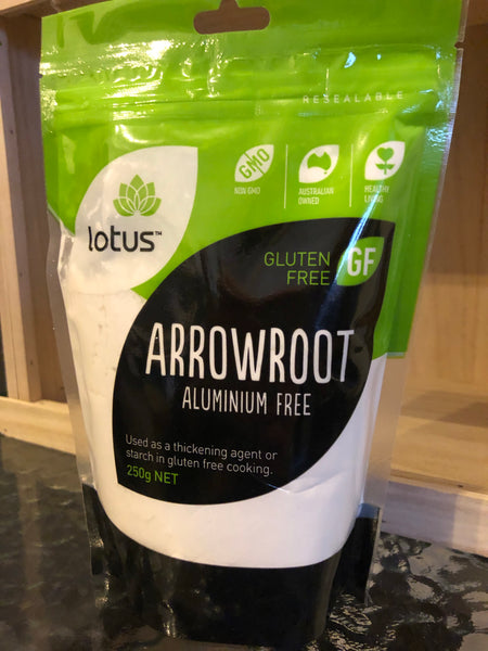 Lotus Arrowroot (Aluminium free) 250g