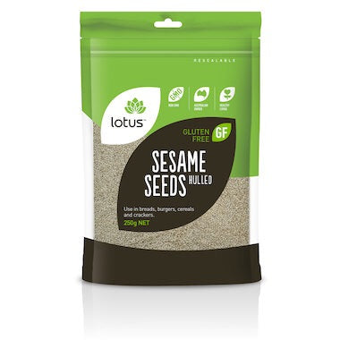 Lotus Sesame Seeds Hulled 250g
