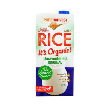 Pureharvest Rice Milk Aussie Dream