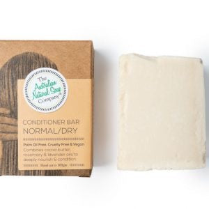 Solid Conditioner Bar - NORMAL/DRY HAIR - by The Aust Natural Soap Co