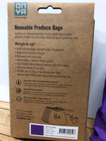 Onya Reusable produce bags - 8 pack - Click for colours