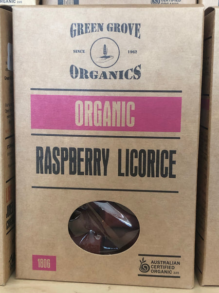 Licorice - Raspberry 180g