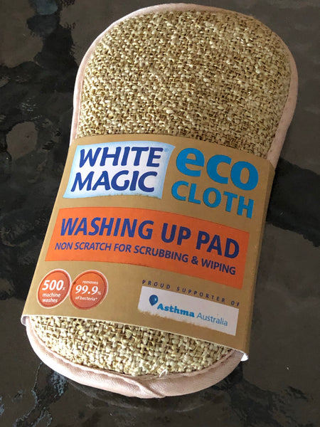 White Magic Washing Up Pad - Pebble