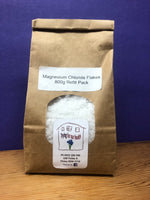 Magnesium bath flakes 800g Refill