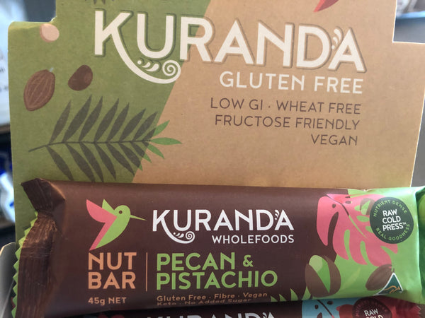 Kuranda GF Nut Bars