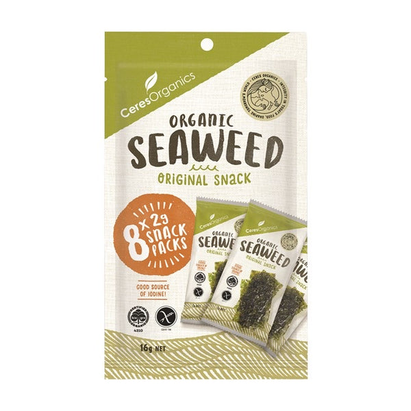 Roasted Seaweed Snack multipack - Ceres Organics