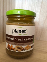 Planet Natural Almond Brazil Cashew Spread 250g