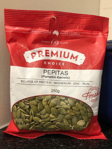 Premium Choice Pepitas 250g