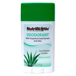 Nutribiotic Deodorant Stick - Unscented